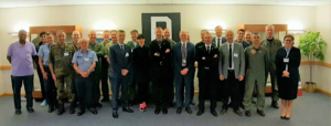 Participants to the 22nd MCCE AAR Ops meeting in UK